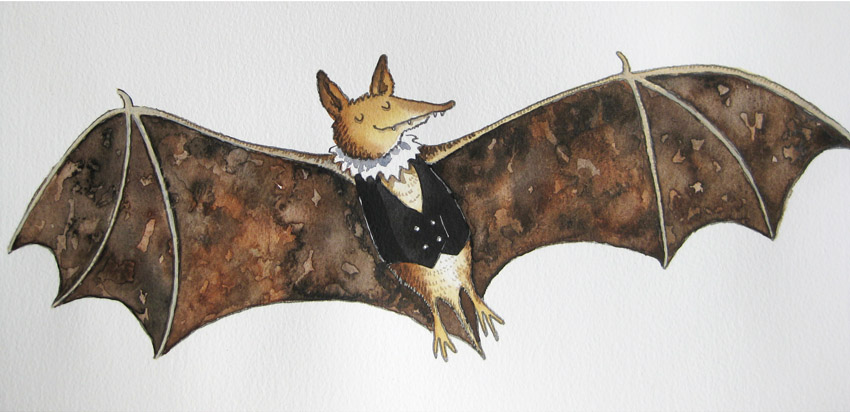 Flittermouse the bat