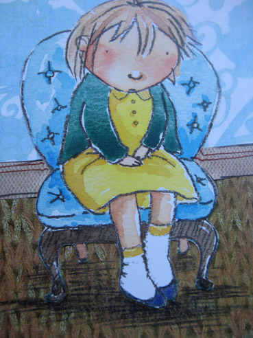 Tallulah from Milo Armadillo book